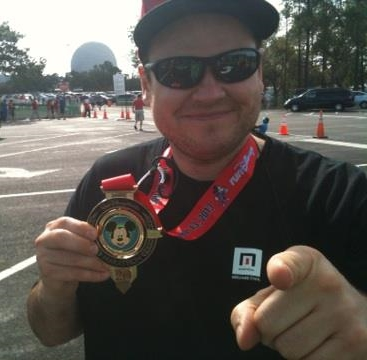 My 1st full marathon (Disney World)