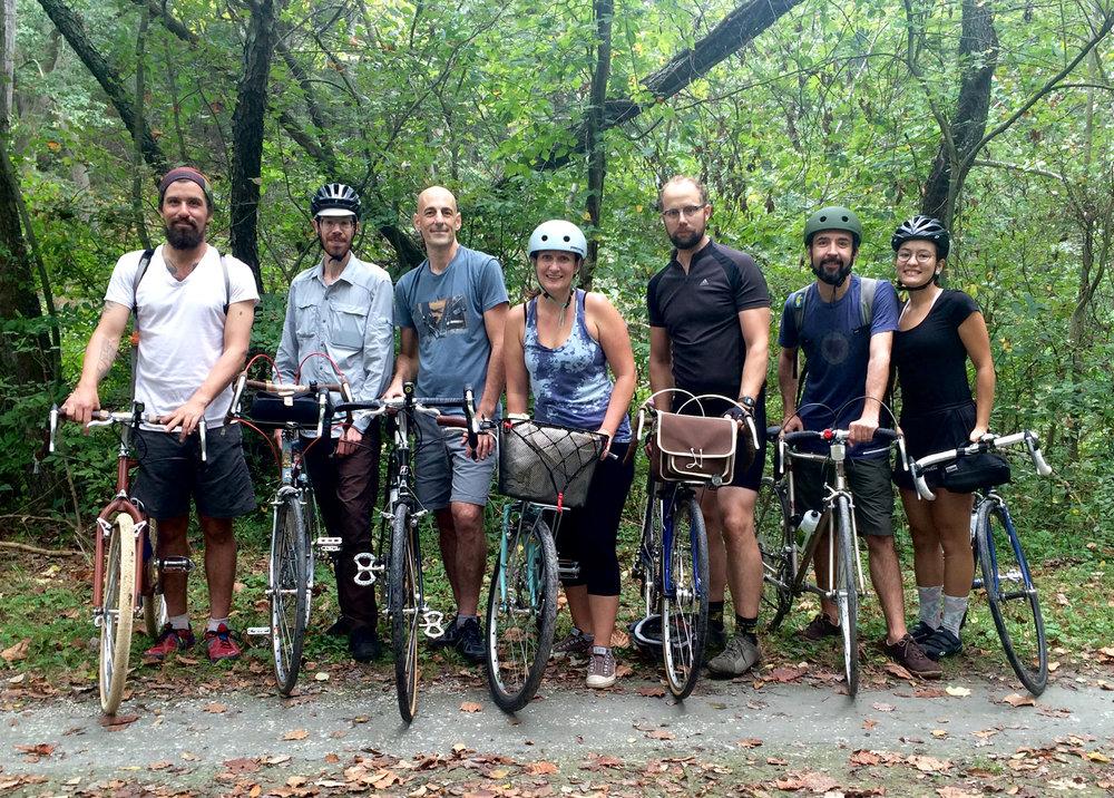 Volunteer Appreciation Ride on the NCR Trail
