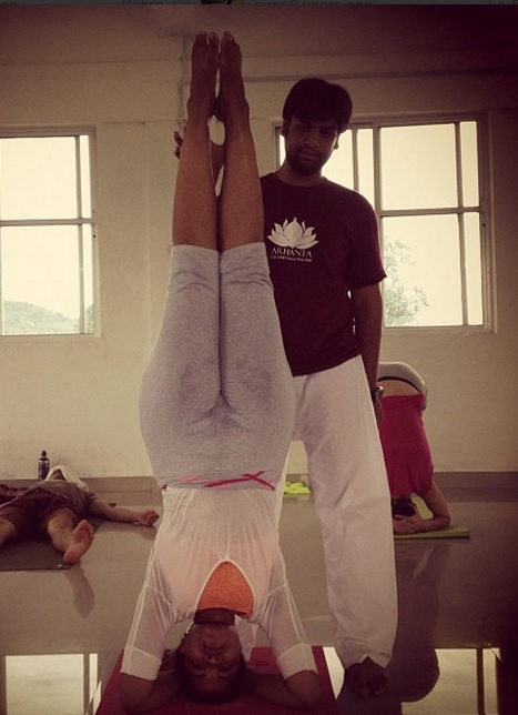 Training in india with the king of asanas.jpg