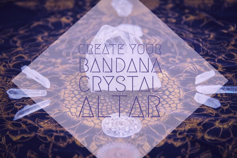 Access Our Eyes - Create Your Bandana Crystal Alter