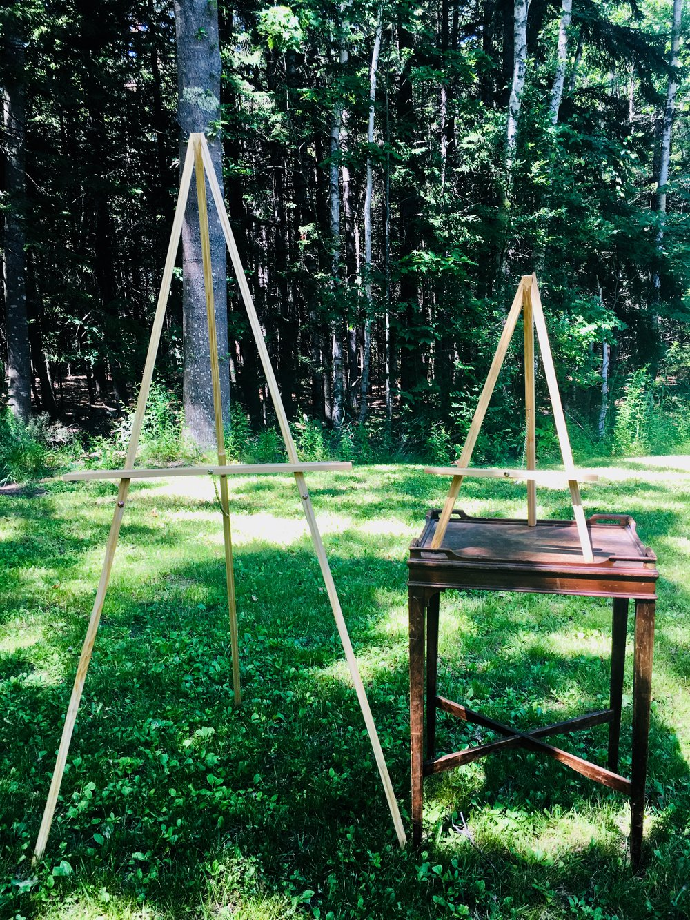 Easels - Large and Small