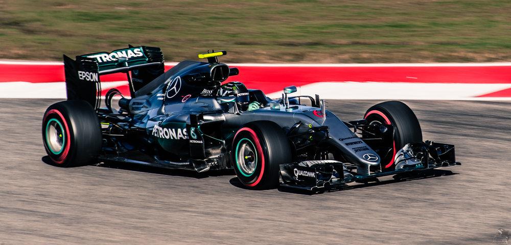 Nico Rosberg At Circuit of the Americas