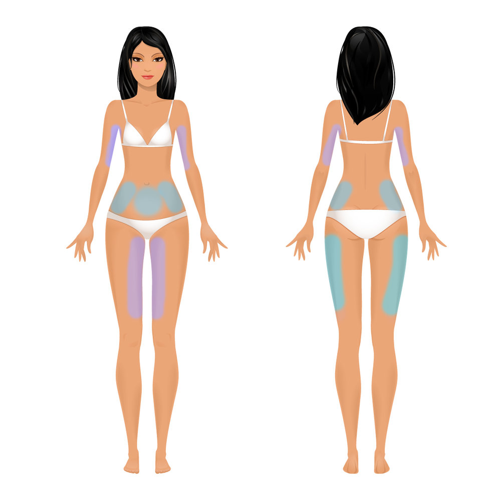 8 Areas: 2-inch loss guarantee.   Many people lose even more! This customized treatment typically includes the stomach, each hip/flank, both outer thighs, both inner thighs OR both arms. This session includes a BONUS 10 minute Whole Body Vibration service which is the equivalent of 30 minutes of exercise.  Buy Now