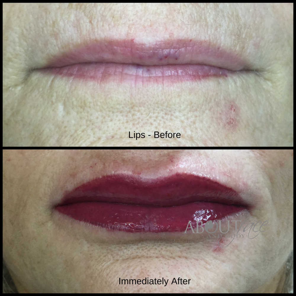 Permanent Makeup - Lips