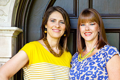 Meet owners, Jennifer and Michelle.