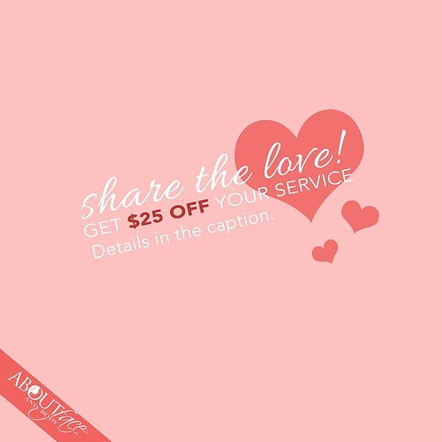 Leave us a review on google, yelp or Facebook, and get $25 OFF your next service! 💕