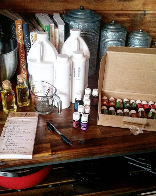 Playing around with some new secret products!! #oils #essentialoils #natural #nontoxic #organic #highvibes #nontoxicbeauty #mountainlife #naturegirl #cabinlife #shopnatural #localmade #herbalist