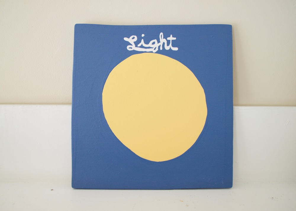 Light Magazine , 2016                      acrylic, wood | 12 x 12 in.