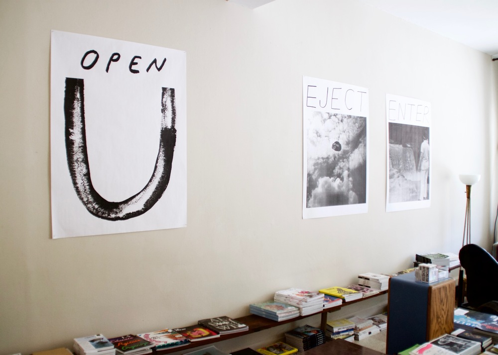 An Inspirational Poster Called Open  (left), 2016                      inkjet print | 48 x 36 in.
