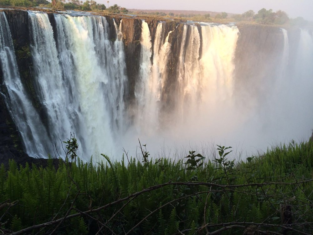 Quick shot of Victoria Falls