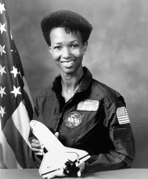 Mae Jemison the first African American woman in space. Image: Getty