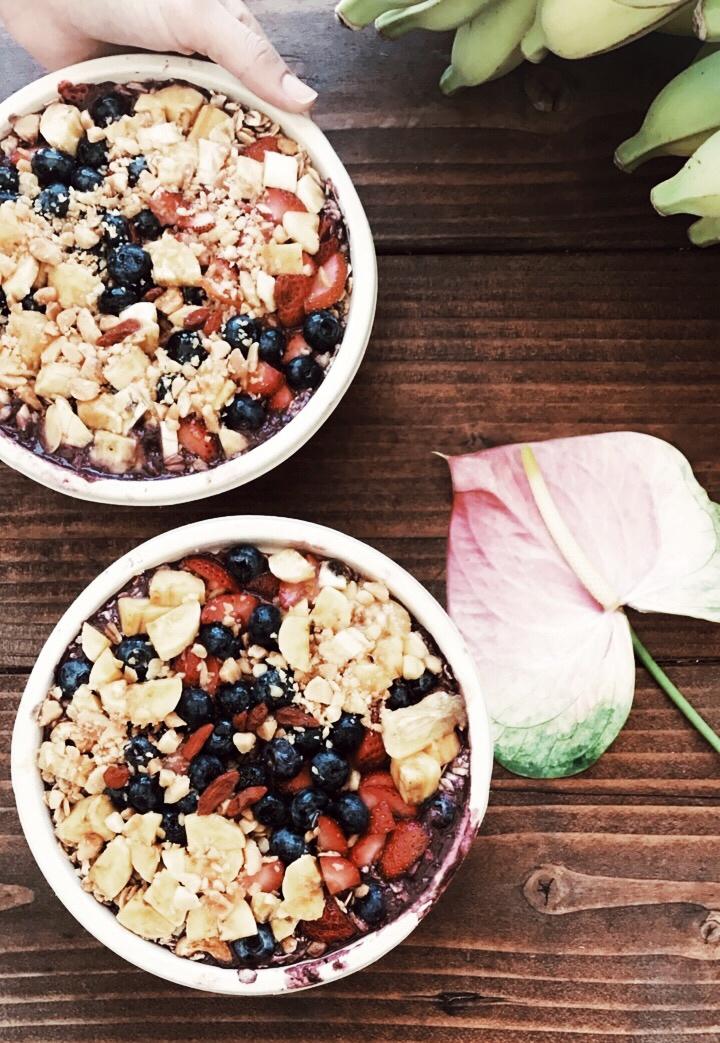 such yummy acai bowls