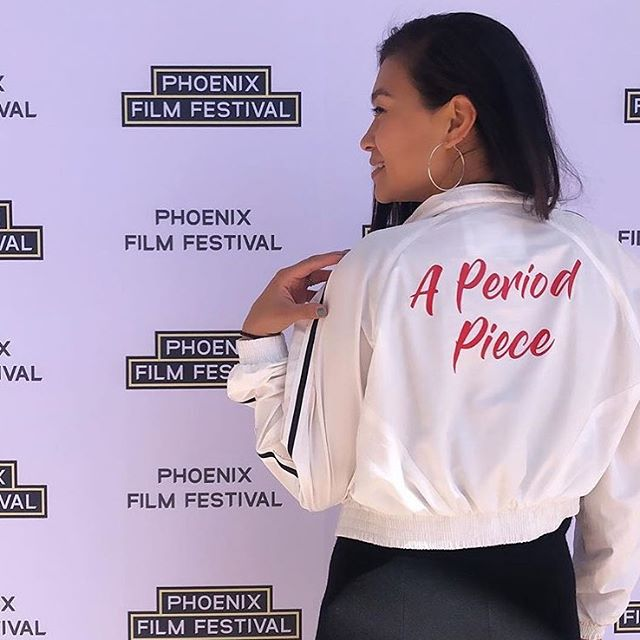Hearing people in a theatre react to your film is priceless! Thanks @phoenixfilmfestival for the fun!  A Period Piece screens again tonight (Monday 4/8) at 9:20pm and Wednesday 4//10 at 9:10pm. Check out Phoenix Film Fest if you are in the area. . . jacket by @a_dash_of_chic 💕 . . #womeninfilm #womenwhowrite #womenwhoproduce #femaledirectors #makeshitwithyourfriends #vktrycreative #indiefilmmakers #writersofinstagram #losangeles #lightscameraaction #write #direct #act #actress #womenofcolor #poc #femininehygieneproducts #hustle #womenwhohustle #womeninfilm #womeninmedia #inclusion #forall #diversity  #actor #actingclass #menstrualhealth #periodsarenormal #lawomensfilmcollective