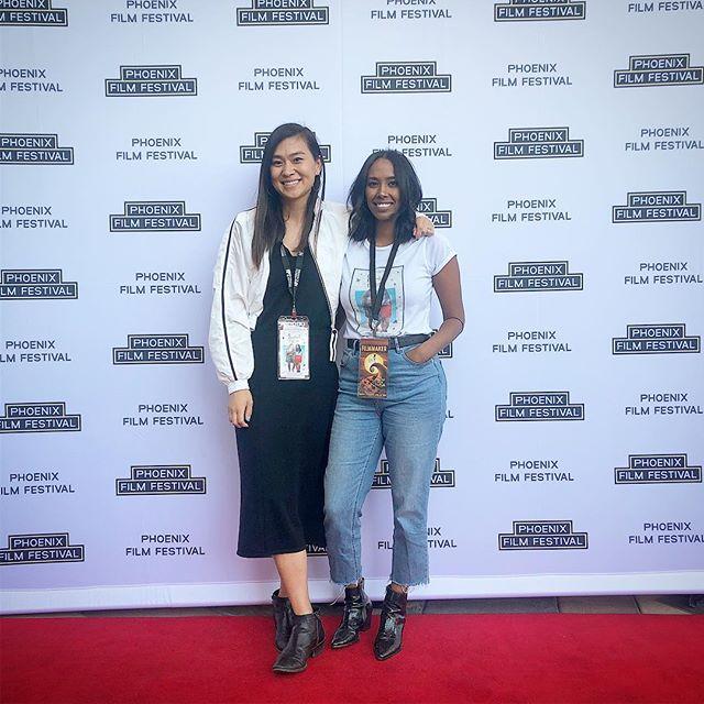 Another festival down. Phoenix is cool. . . . #womeninfilm #womenwhowrite #womenwhoproduce #femaledirectors #makeshitwithyourfriends #indiefilmmakers #writersofinstagram #losangeles #lightscameraaction #write #direct #act #actress #womenofcolor #poc #justdoit #hustle #losangeleswomensfilcollective #womenwhohustle #womeninfilm #girlsinfilm #womeninmedia #inclusion #filmfestivals #phoenixfilmfestival