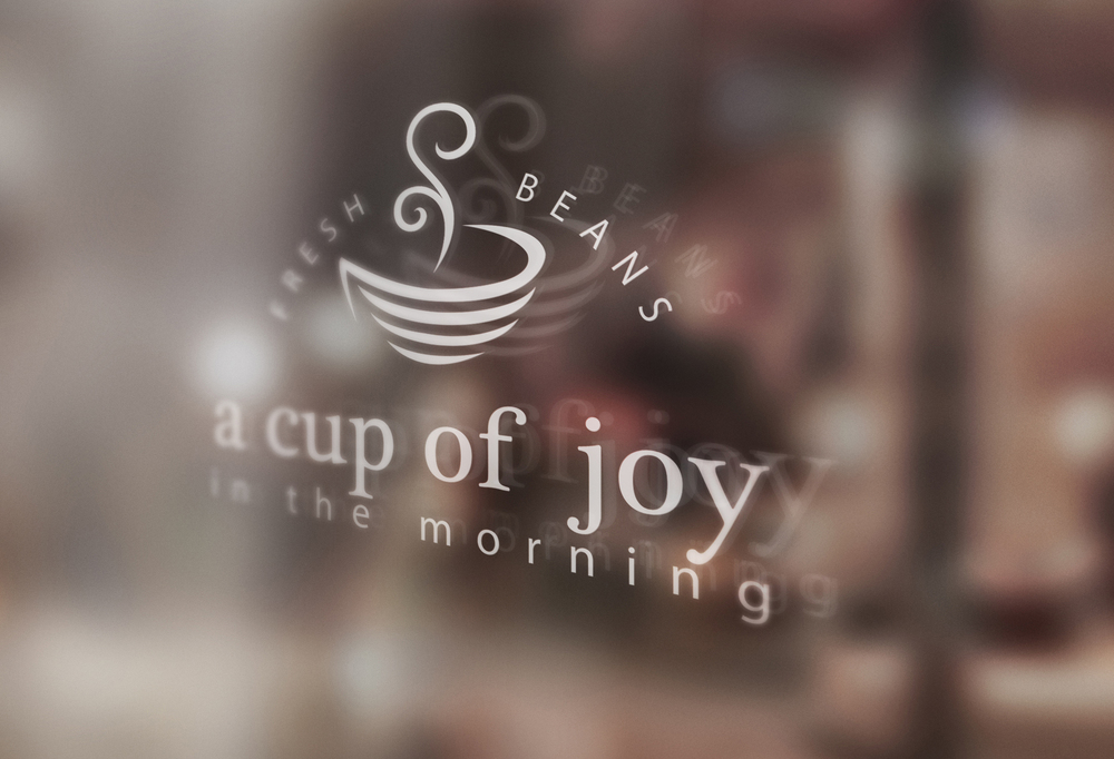 A cup of joy in the morning  Signage Mock-Up.jpg