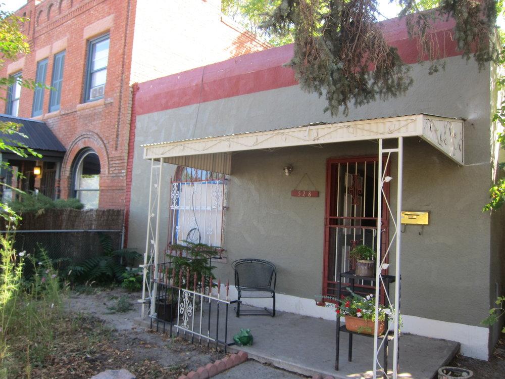 Front facade, prior to renovation
