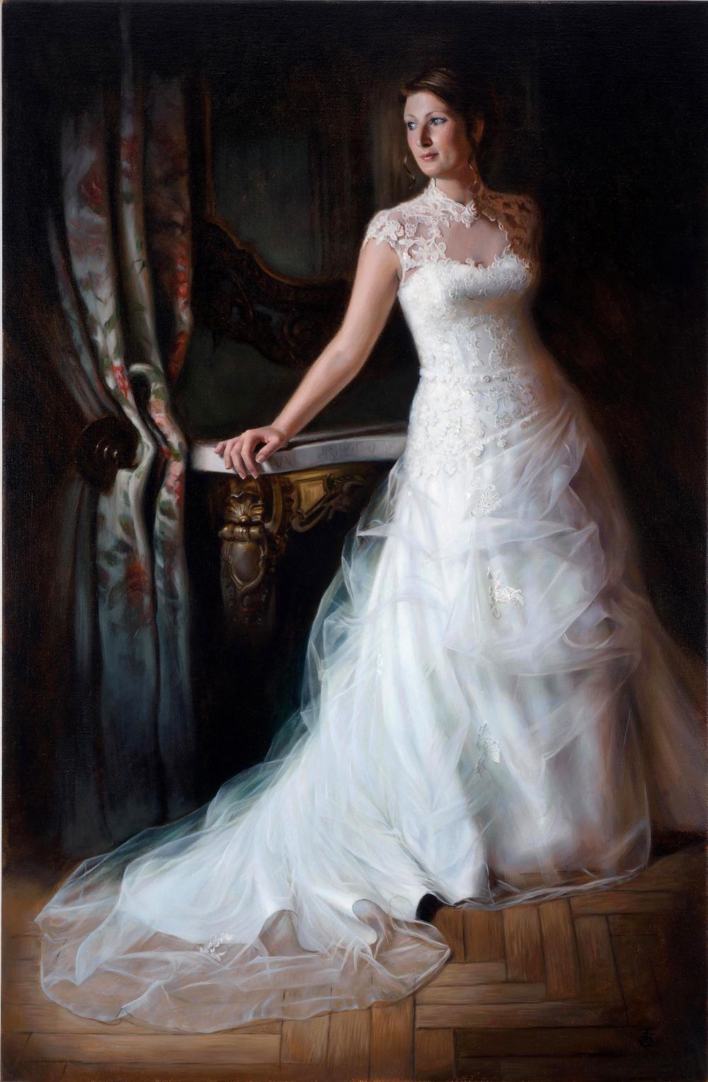 Oil painting by Tina Spratt