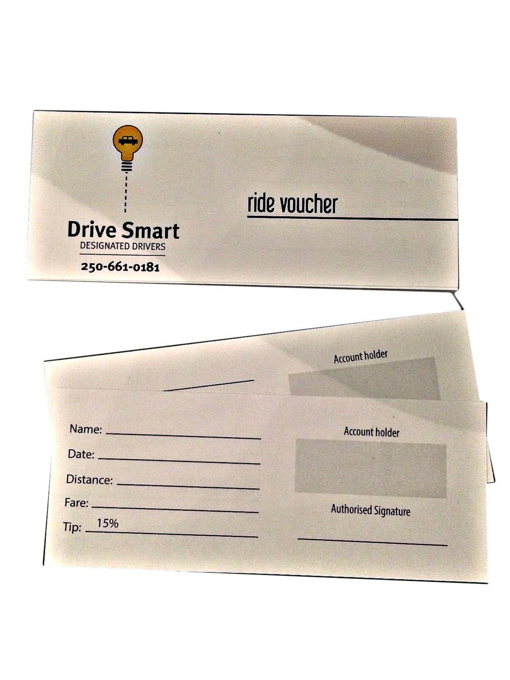 Ride vouchers for either the full trip or part of it