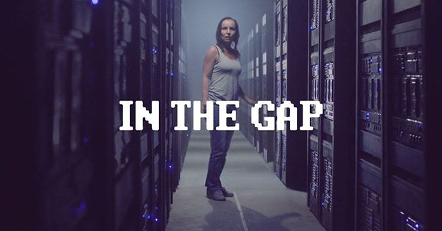 In The Gap . A woman trapped inside a strange server room must deal with manifestations of her tattered past until her time is up. . Director Albin Glasell . Watch In The Gap live right now! Link in bio.