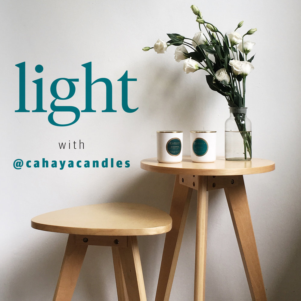 Light with Cahaya Candles