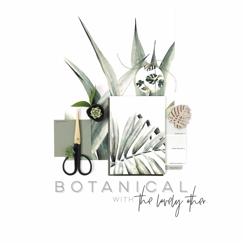 botanical creative challenge theme