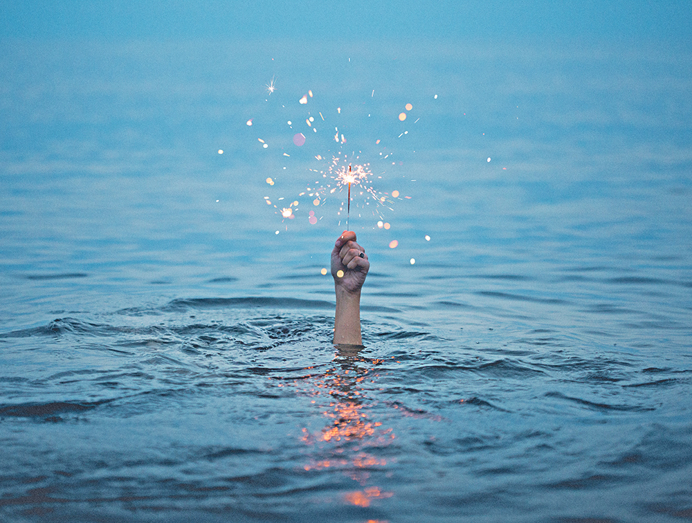 Don't forget to share your unique sparkle! Photo by  Kristopher Roller  via   Unsplash