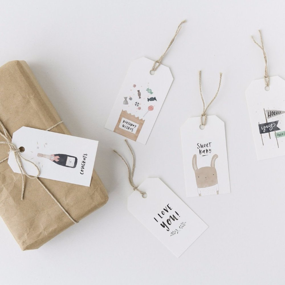 In the Daylight - Set of 5 Gift tags