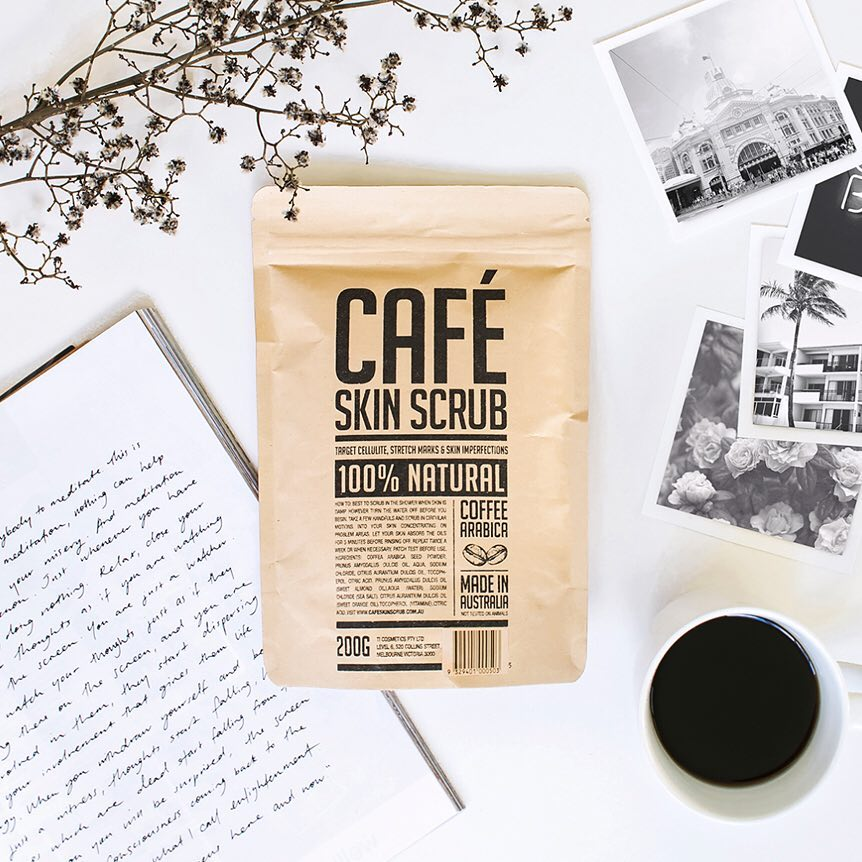 Cafe Skin Scrub - Original 200g coffee scrub