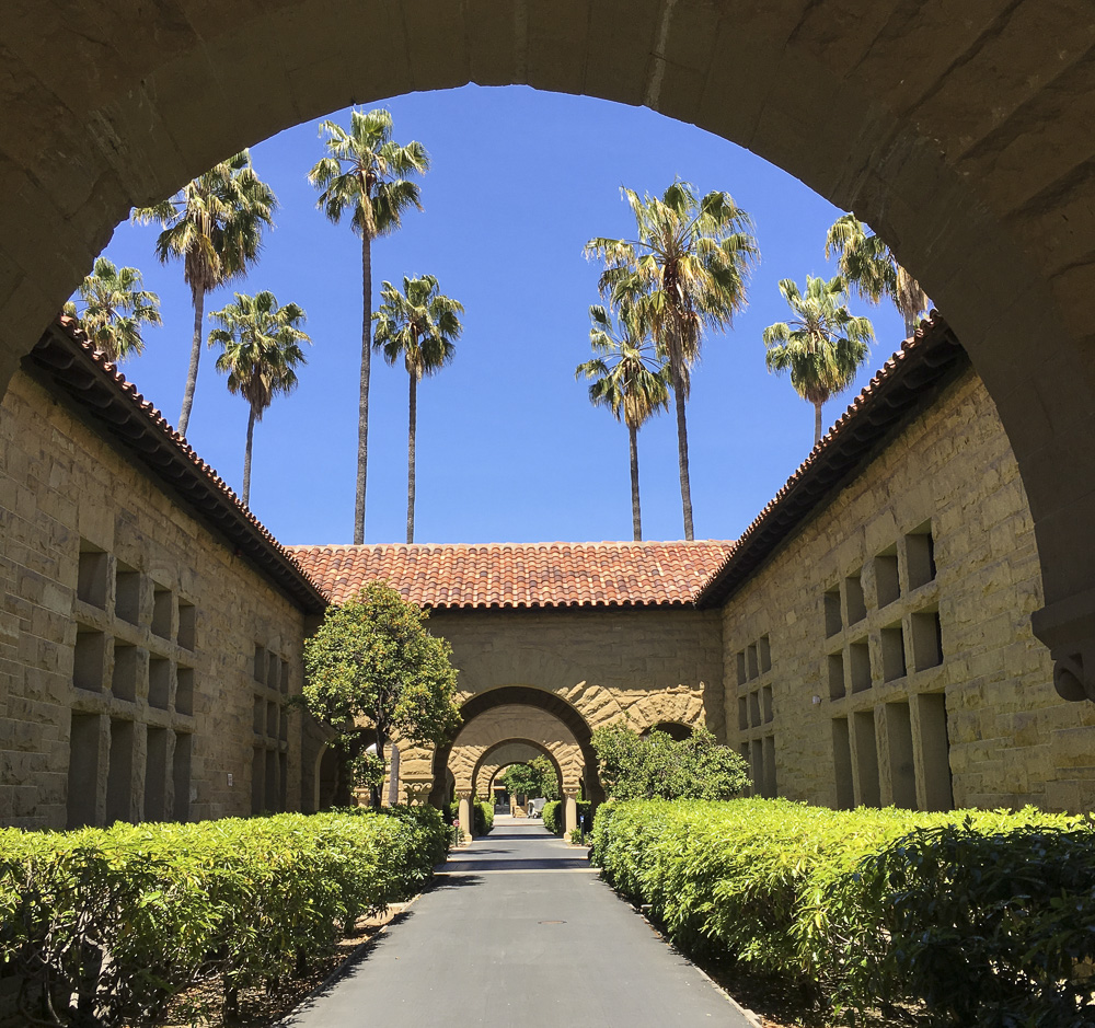 Beautiful Stanford university Campus