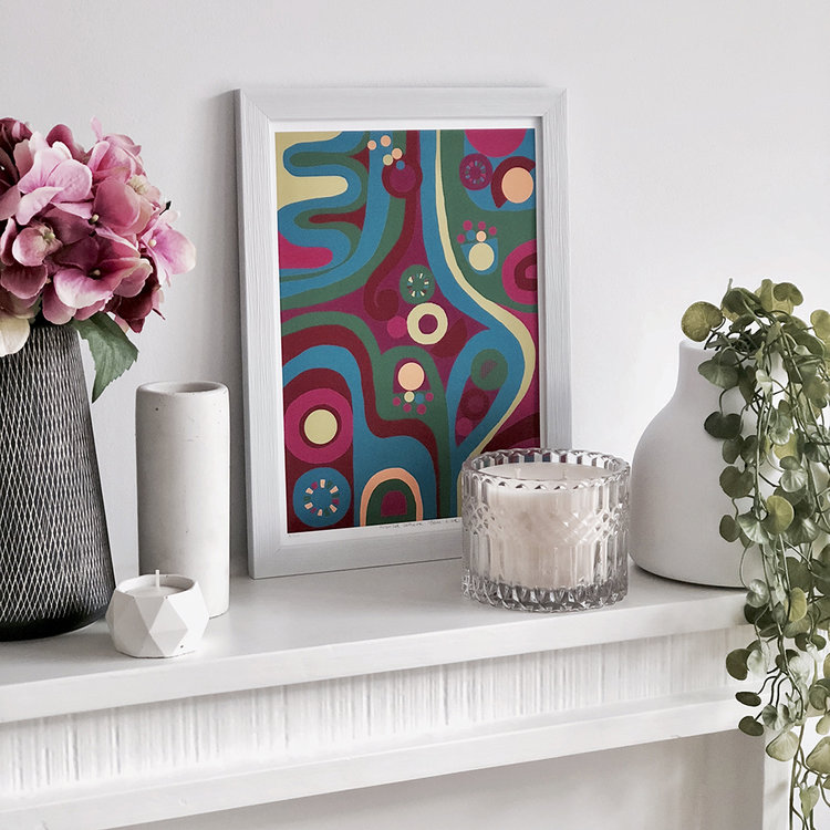 interior style tips how to transform your space using art prints