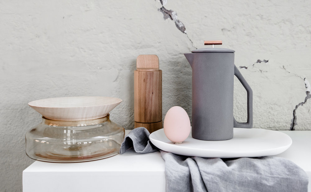 Selection of homewares from Gingerfinch. Photography by Lean Timms