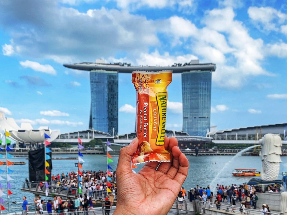 On location in Singapore. Creatively Squared campaign for Nature Valley. Photographer: Jo Oetemo