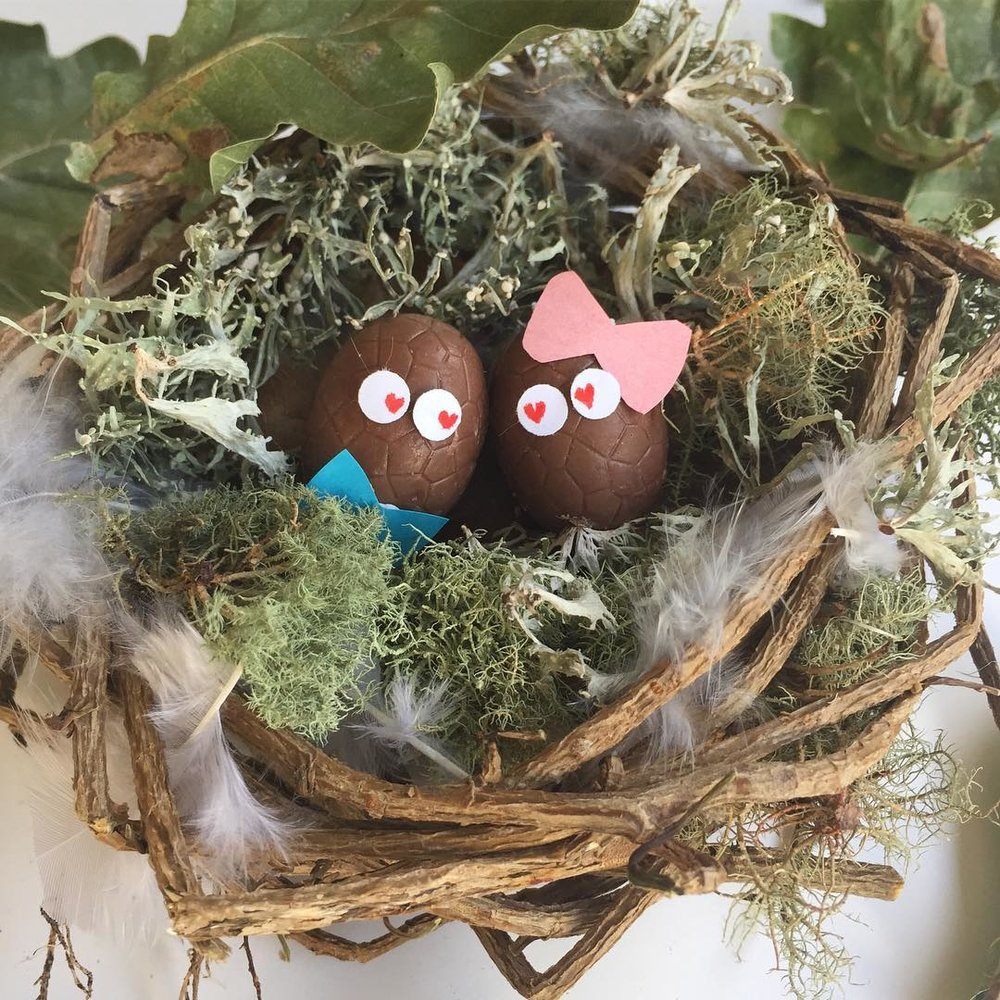 """""""As Eggward nestled in with Megg, he knew he was eggsactly where he should be. As for their future plans, who knows what they will hatch next? Maybe a new disguise? Or maybe something a """"little sweeter"""" 😉"""""""