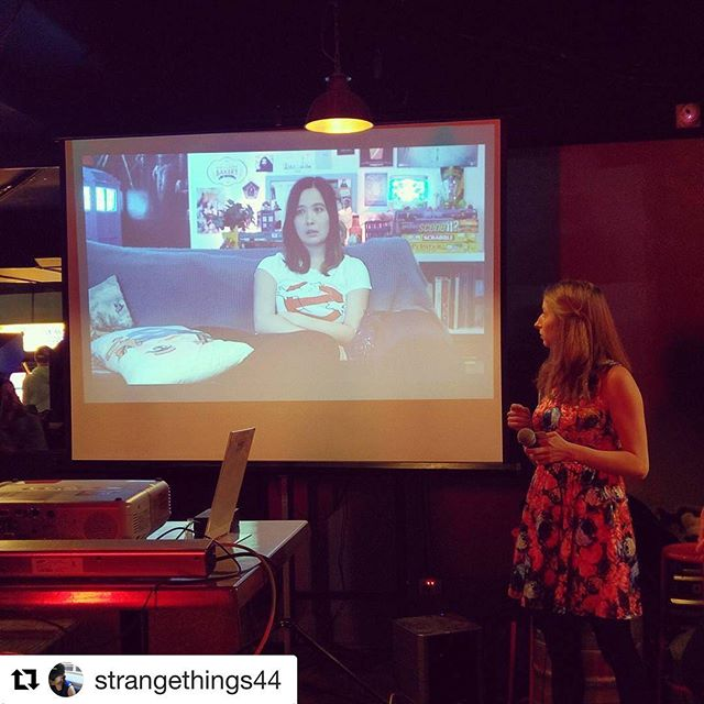 Tonight was great. ❤️ #Repost @strangethings44 ・・・ Launched! #icantevenwebseries