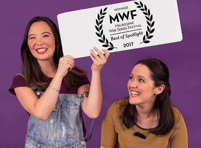 We're at @melbwebfest for the awards ceremony tonight! Good luck to all the nominated series! . . . #icantevenseries #webfest #webseries #melbwebfest2017 #sansastark #aryastark #daenerystargaryen #gameofthrones #got #buffythevampireslayer #twilight #edwardcullen #jessicajones #gilmoregirls #teamdean #teamjess #teamlogan #rorygilmore #walkingdead #lookattheflowers #fangirl #nerdfighteria #nerdfighter #vlogbrothers #youtube #australianwebseries #melbournewebseries #popculture #screening #comedy