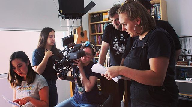 Ever wonder how two fangirls with very few technical skills managed to make a web series? Well thanks to @marymcgillivray and @maddyjayde we have some awesome behind the scenes videos going up on our YouTube starting tomorrow! Link in our bio for the full series. . . #icantevenseries #webfest #webseries #behindthescenes #bts #filmmaking  #sansastark #aryastark #daenerystargaryen #gameofthrones #got #buffythevampireslayer #gandalf #drarry #jessicajones #gilmoregirls #teamdean #teamjess #teamlogan #rorygilmore #walkingdead #lookattheflowers #fangirl #nerdfighteria #nerdfighter #vlogbrothers #youtube #australianwebseries  #comedy