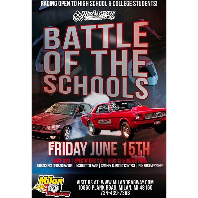 Brace for Battle - Become the top school of racing, this Friday!