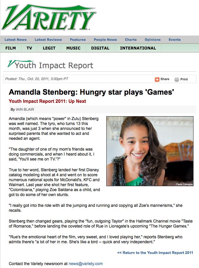 amandla stenberg hunger games variety.com