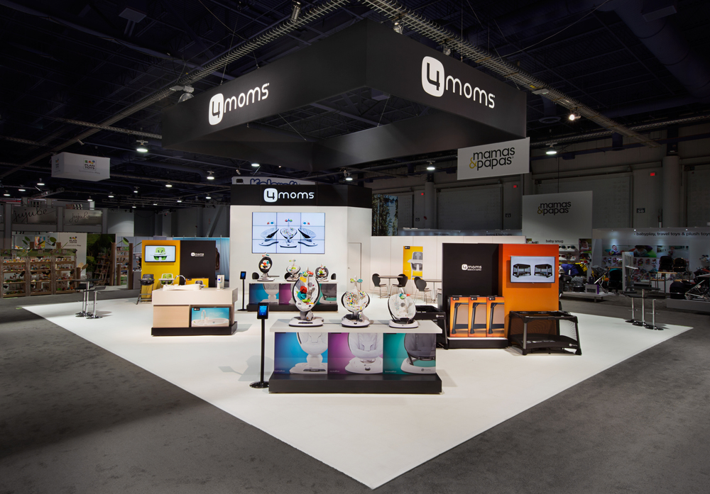 4moms booth at 2015 ABC Kids Expo - Las Vegas, NV