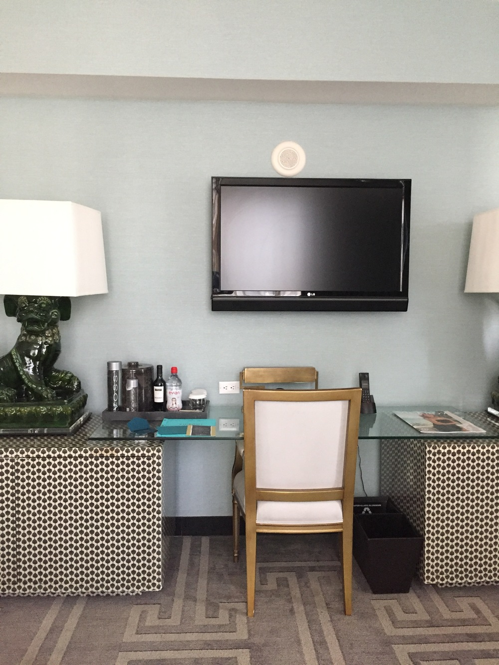 Viceroy Miami Corner Suite Desk
