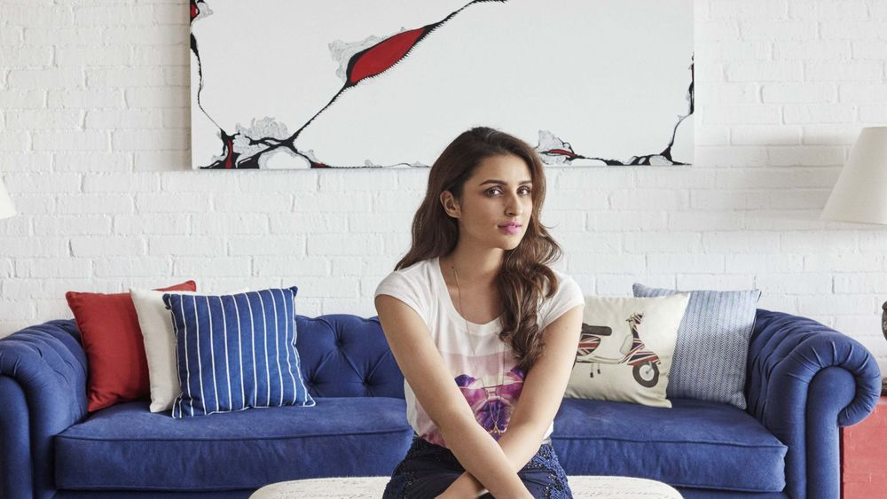 Parineeti Chopra Living Room Mumbai