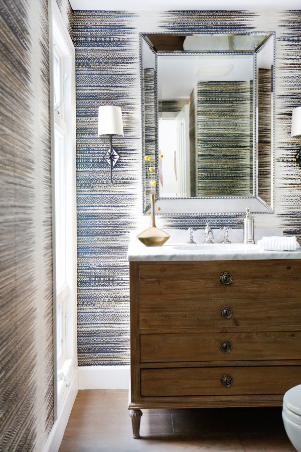 Blackband Design San Clemente Powder Room