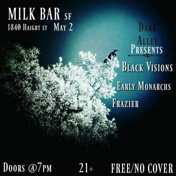 5/2/2018 at The Milk Bar in San Francisco!