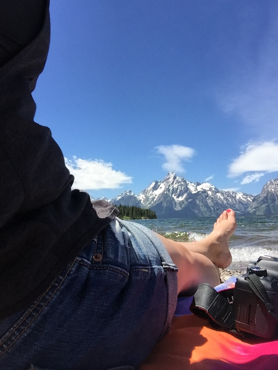 tetons relaxing