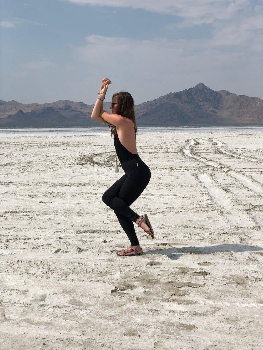 yoga salt flats 1
