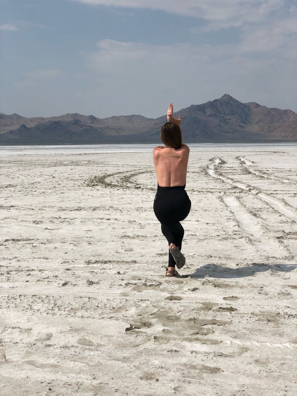 yoga salt flats 2