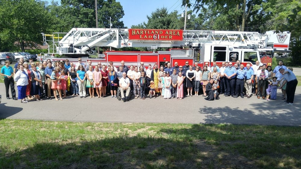 On Sunday, July 29th, Our parish family welcomed local first responders from all over Genesee and Livingston County to the third annual First Responders Blessing here at St. Mary Magdalene.