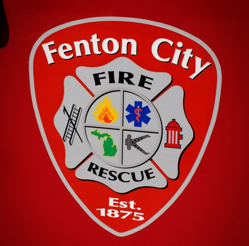 There was representation from the Fenton City Fire Department, let by Chief Bob Cairnduff