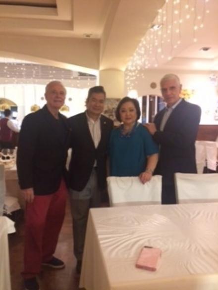 RUSTAN'S MS. NEDY TANTOCO WITH MR. EMILIO MINA &FRIENDS
