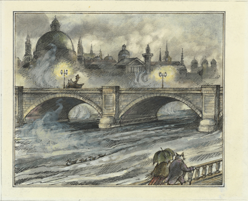 """My London Bridge  ""    Copyright © 1985 by Arnold Lobel (courtesy of Harper Collins Publishers)"